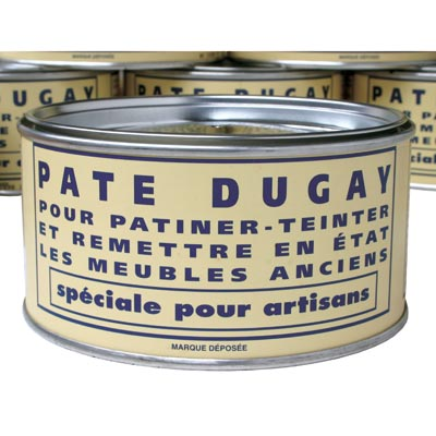Pate Dugay (Tinted) Paste Wax - PATE DUGAY (TINTED) PASTE WAX FURNITURE WAX